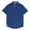 TABS mens Deep Challenger Blue polo