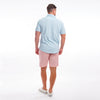 TABS Conch Shell Pink cotton linen Bermuda shorts