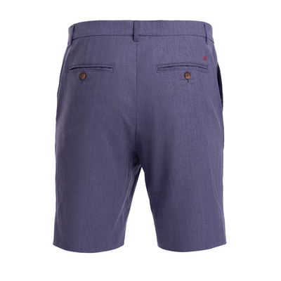 TABS Morning Glory cotton linen Bermuda shorts