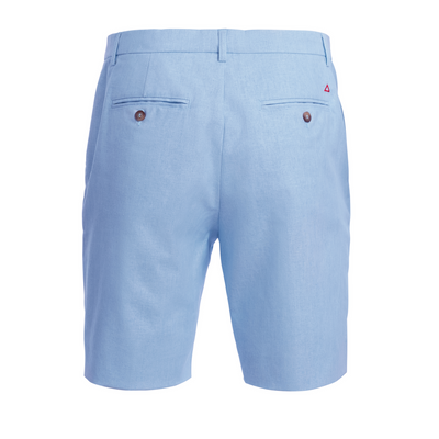 TABS Mens Something Blue cotton linen Bermuda shorts