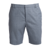 Blue Heron cotton linen Bermuda shorts
