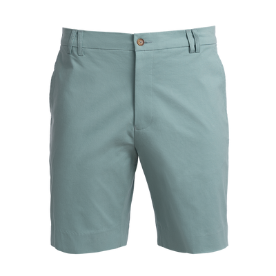 Town Cut Teal stretch cotton Bermuda shorts