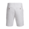 Gibbs Hill White stretch cotton Bermuda shorts