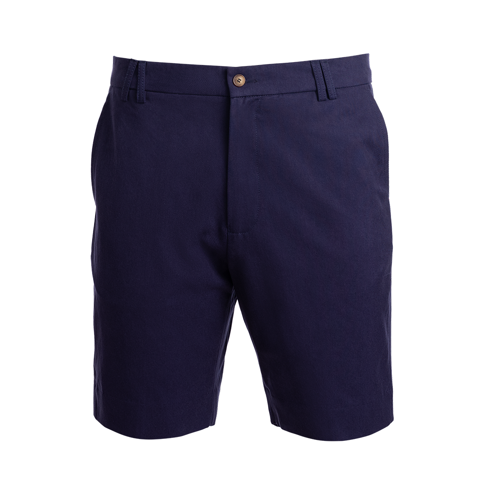 TABS Mens North Rock Navy cotton Bermuda shorts