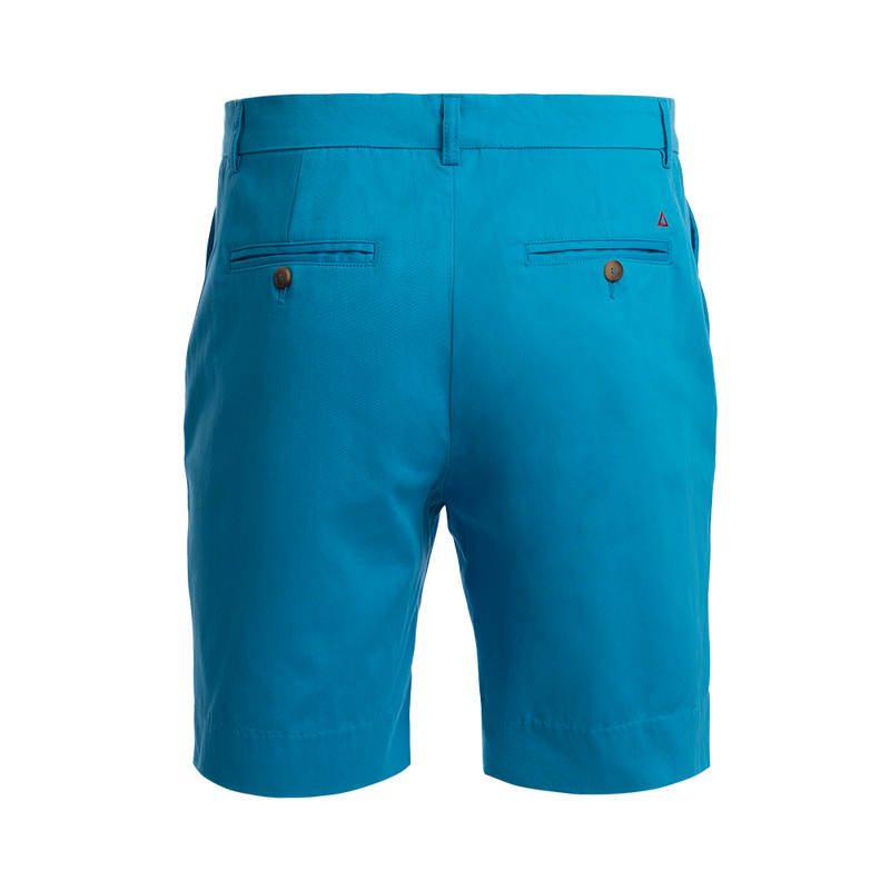TABS Mens Parrot Fish Turquoise cotton Bermuda shorts