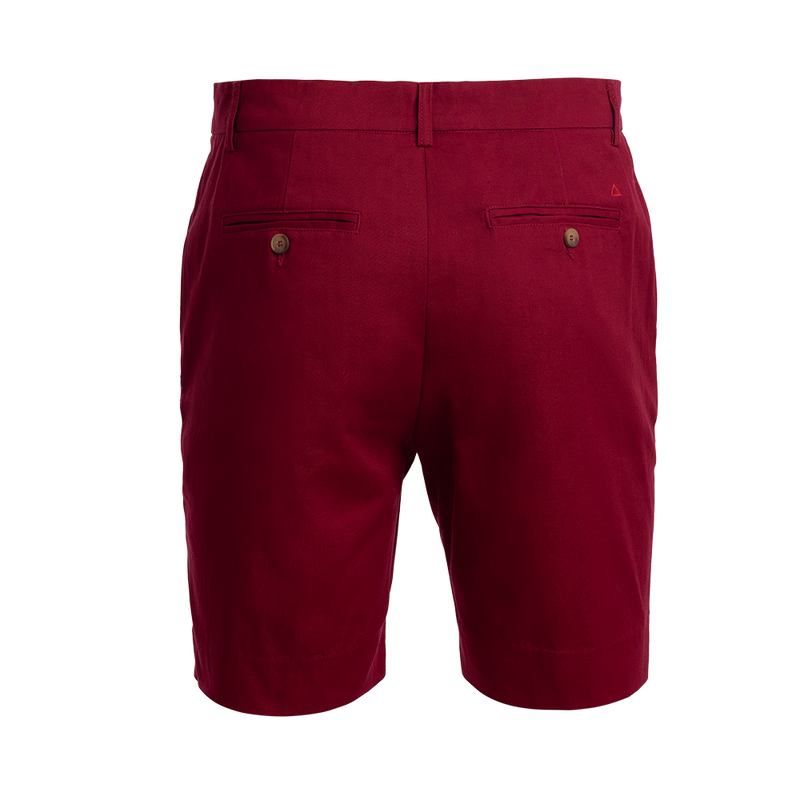 TABS mens stretch cotton Bermuda shorts Surinam Cherry