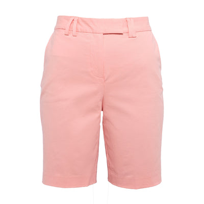 "TABS womens 9"" Bermuda shorts - Flamingo Pink"