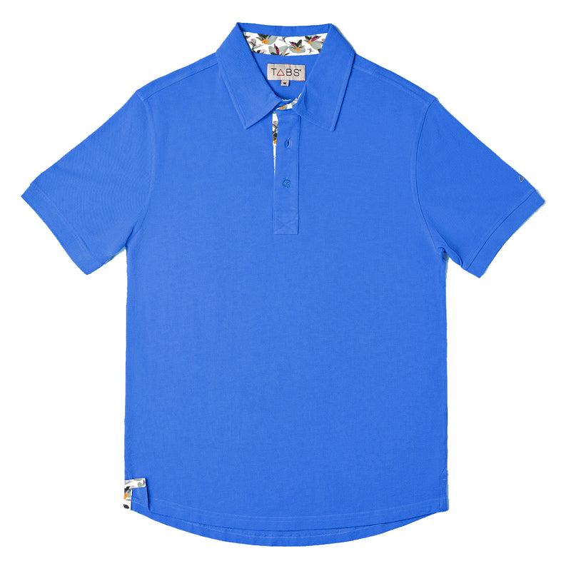 Men's Performance Polo - Autumn Sky Blue