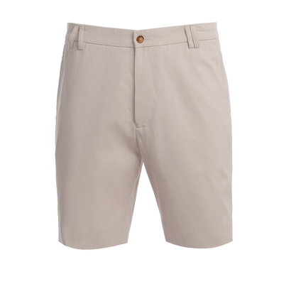 TABS Mens Baby Cahow Grey cotton Bermuda shorts