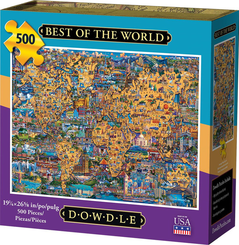 eric dowdle world puzzle