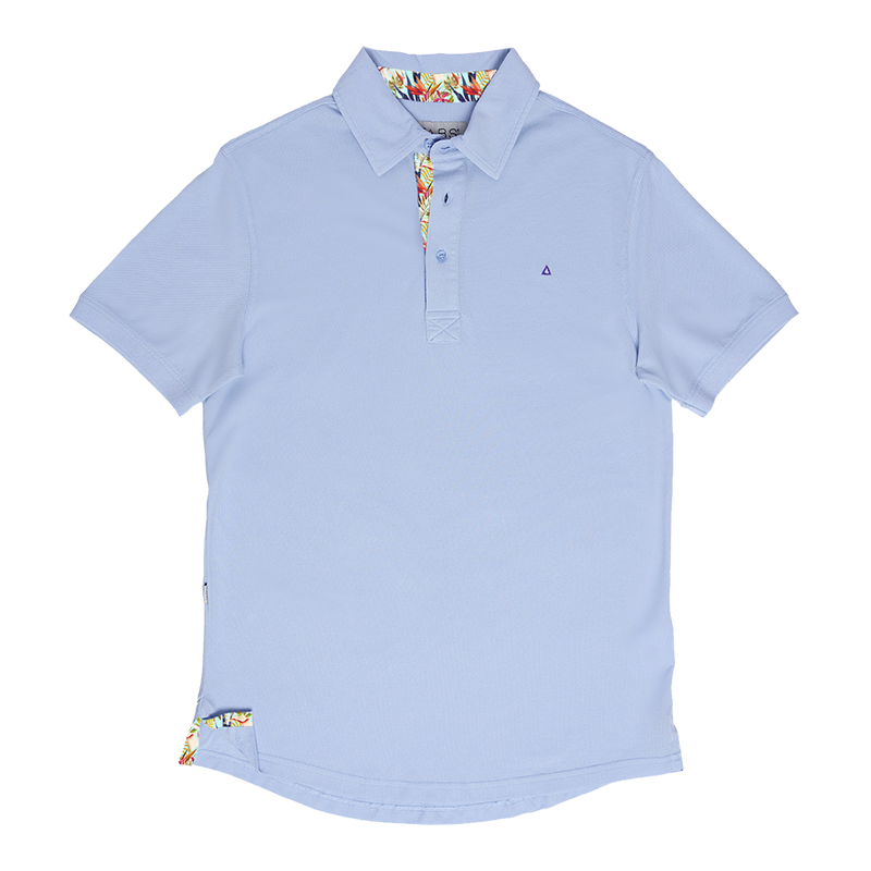 TABS blue sky dawn polo shirt