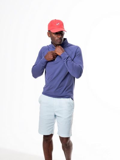 TABS belmont blue performance bermuda shorts