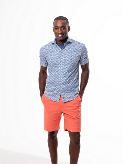 TABS Rum Swizzle stretch cotton bermuda shorts