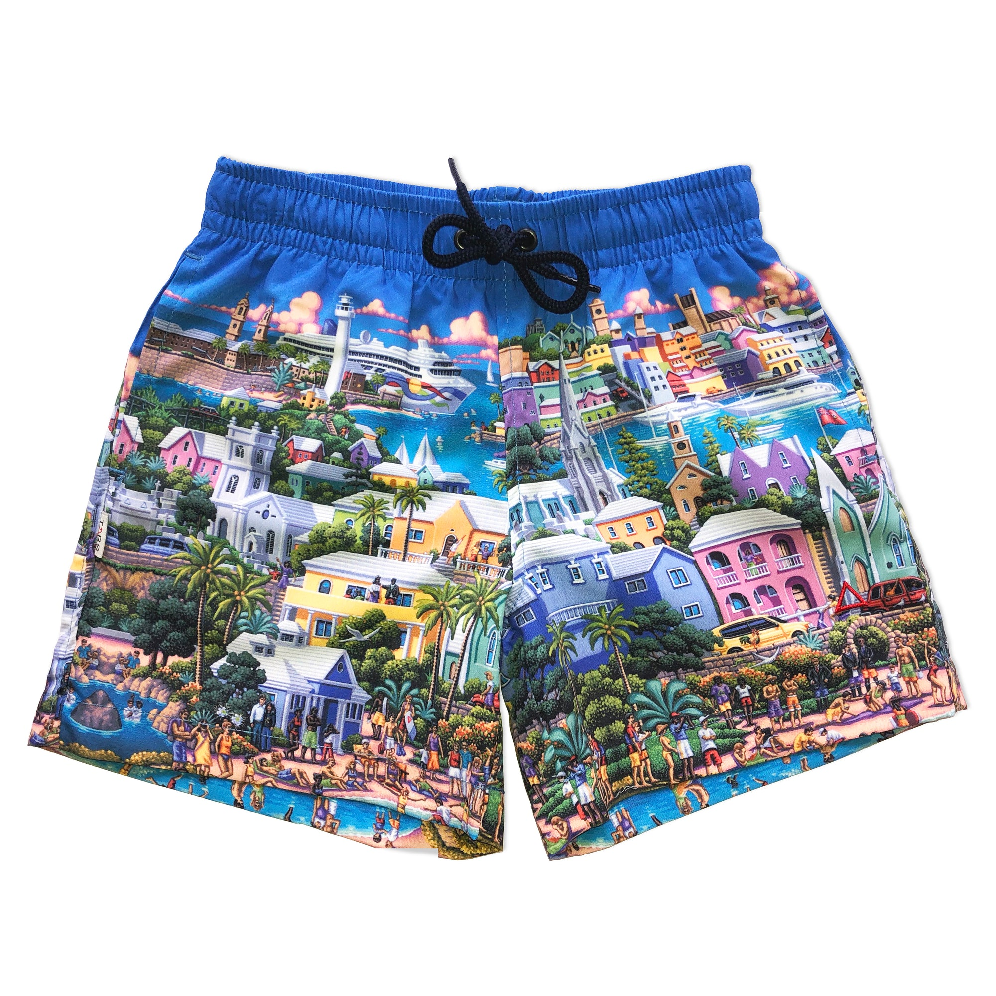 TABS kids Eric Dowdle swim shorts