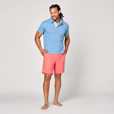 TABS mens Dusk Blue polo