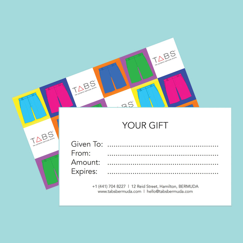 TABS Gift Card