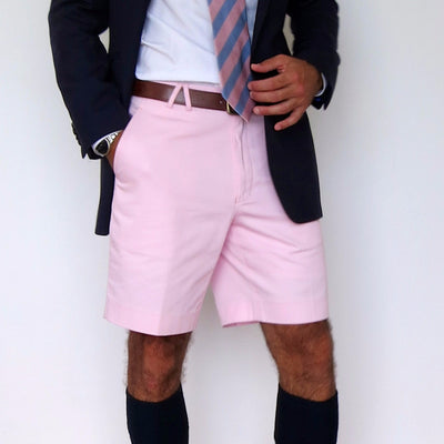 TABS Mens Princess Pink cotton Bermuda shorts