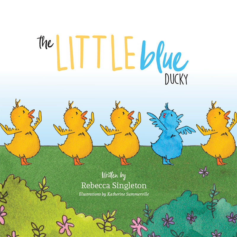 Little Blue ducky front cover