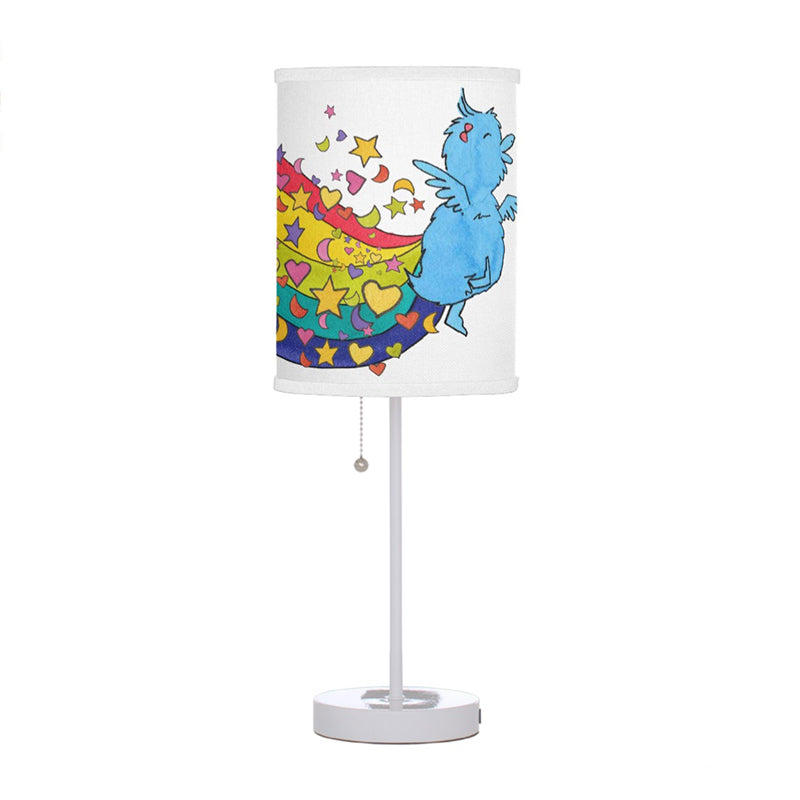 the little blue ducky lamp