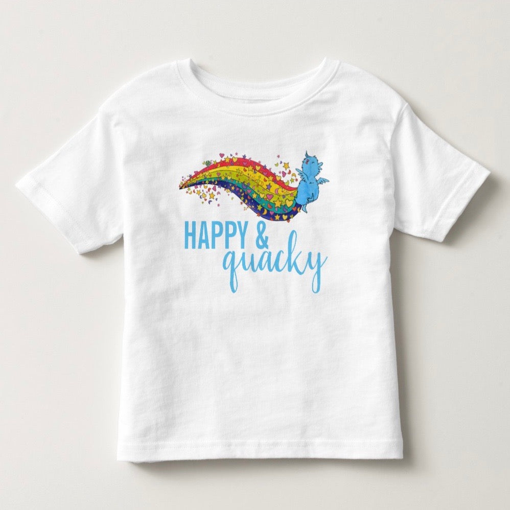 the little blue ducky toddler tee