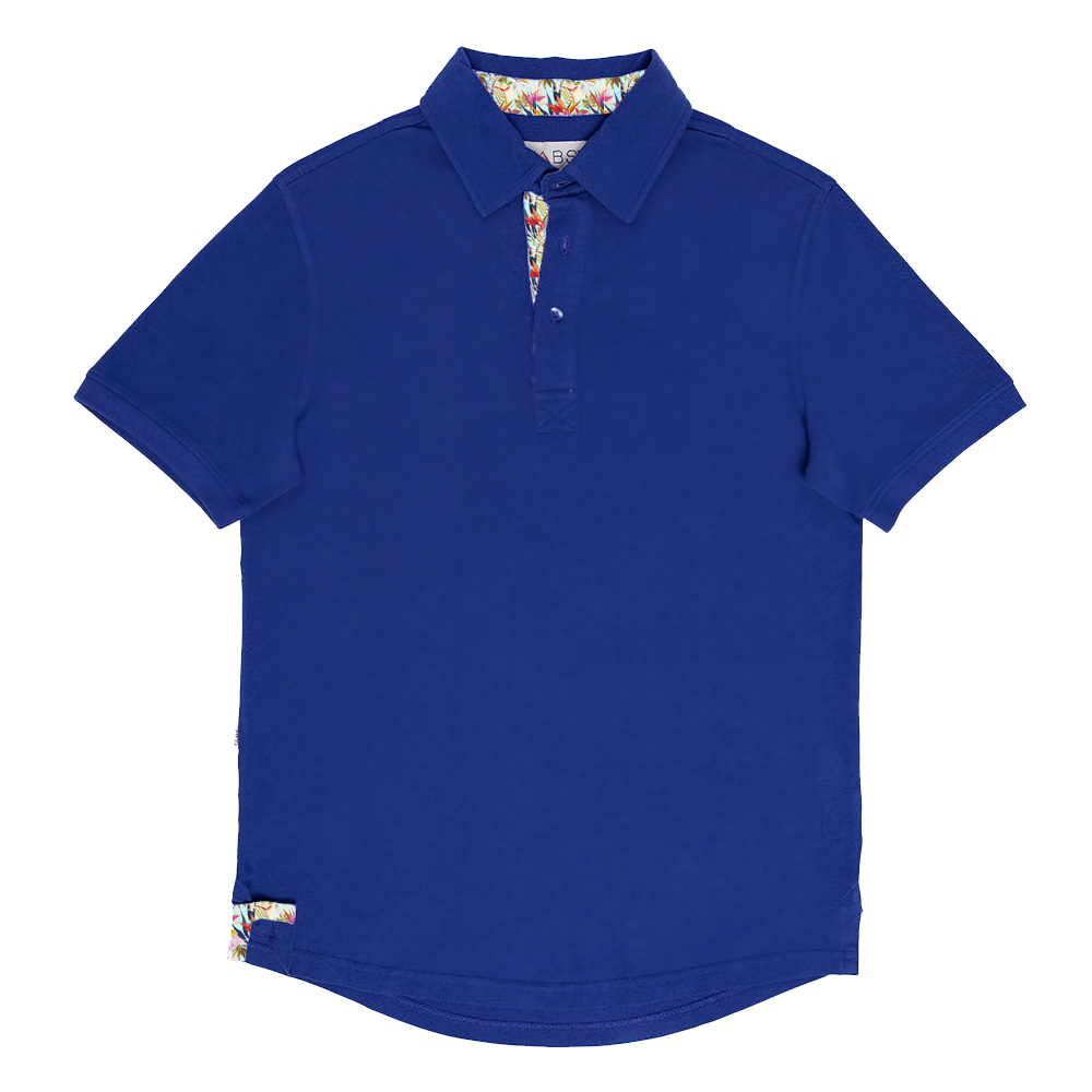 Men's Performance Polo - Mid Ocean Blue