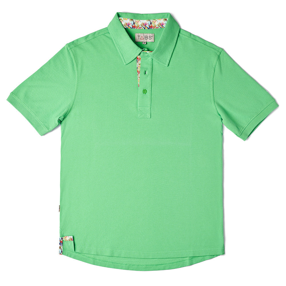 Men's Performance Polo - Fairway Green