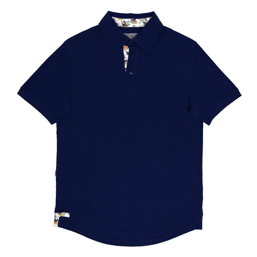 Men's Performance Polo - Royal Navy Dockyard