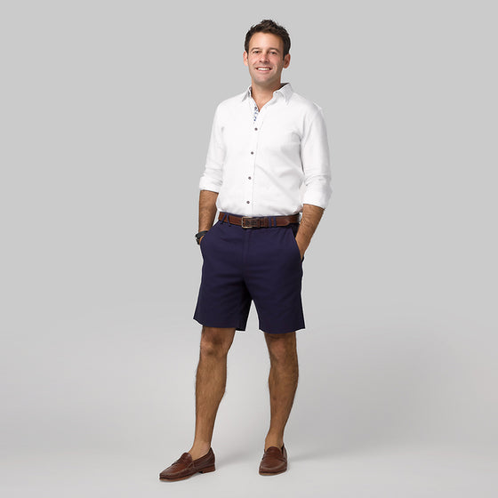 Mens Navy Bermuda Shorts