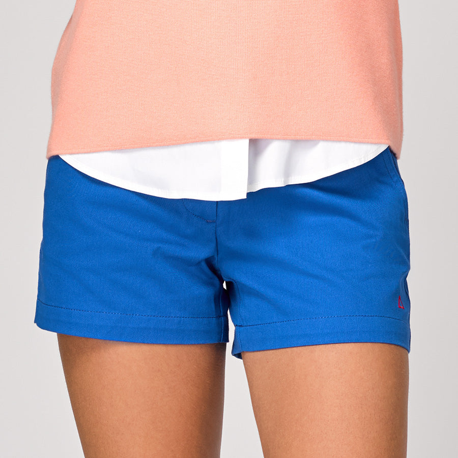 "TABS Bermuda shorts boaters 4"" inseam women"