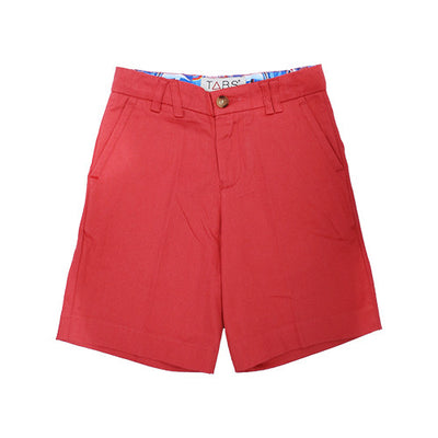 TABS | mini | Bermuda shorts | coral beach | front