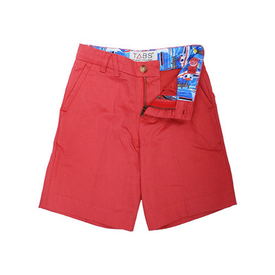 TABS | mini | Bermuda shorts | coral beach | front open