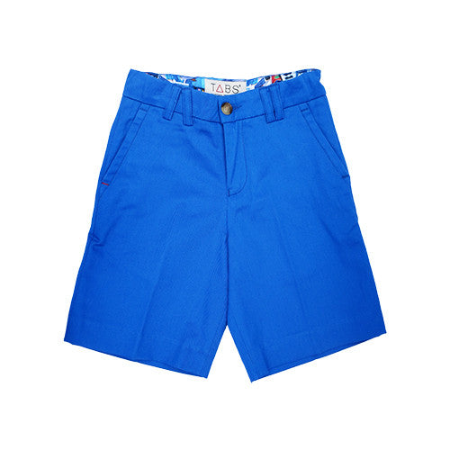 TABS | mini | Bermuda shorts | reef line blue | front