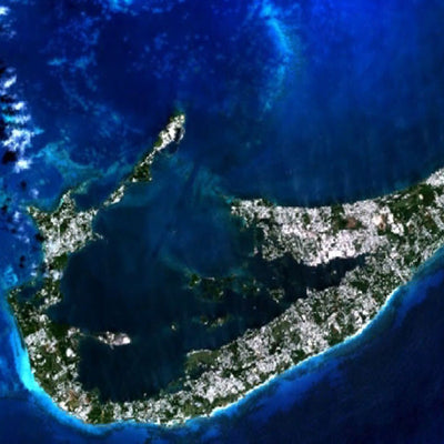 Aerial View of Bermuda