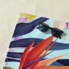 Beach Towel in Botanical Gardens Print