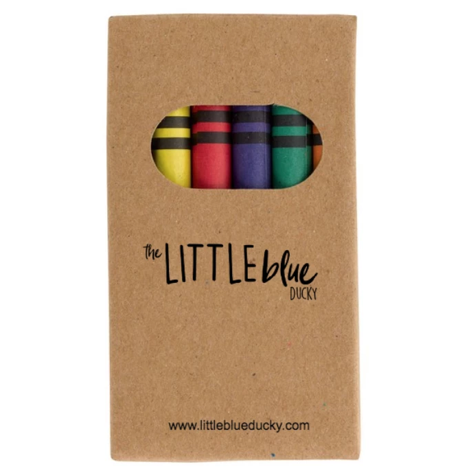 The Little Blue Ducky 6 Piece Crayon Set
