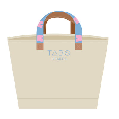 TABS Canvas Tote
