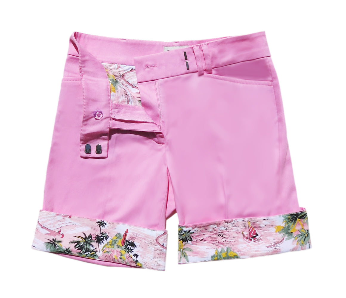 TABS Bermuda Shorts for women in pink