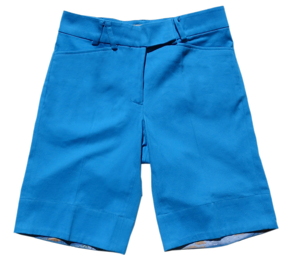 TABS Women Bermuda Shorts, Parrot Fish, product shot