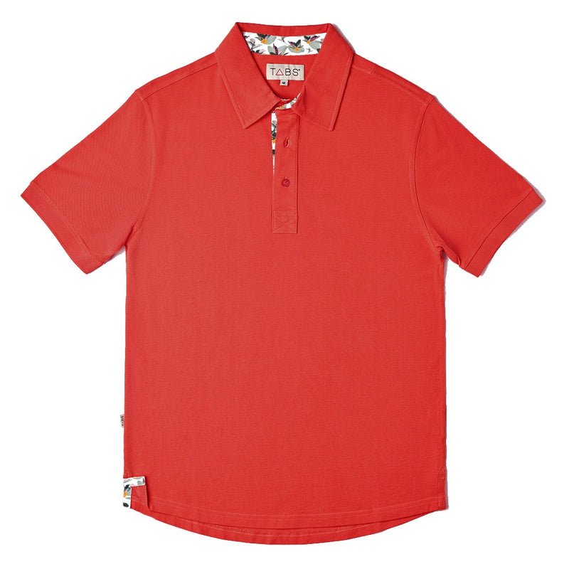 Men's Performance Polo - Riddell's Bay Red