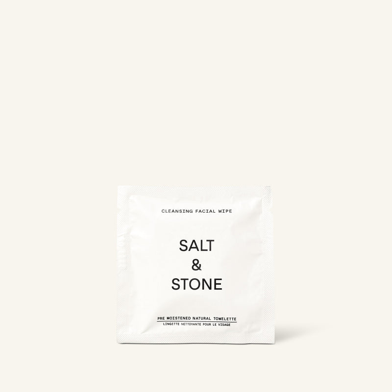 Salt & Stone Cleansing Facial Wipes