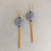 Rebecca little moonstone earrings
