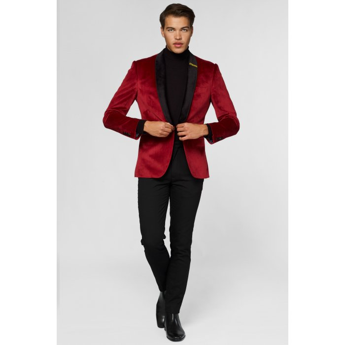 OPPOSUITS Dinner Jacket - Burgundy