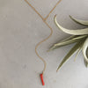 Rebecca little coral necklace