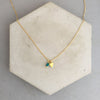 Rebecca little triangle necklace