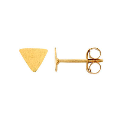 Solid Triangle Studs Rebecca Little Jewellery