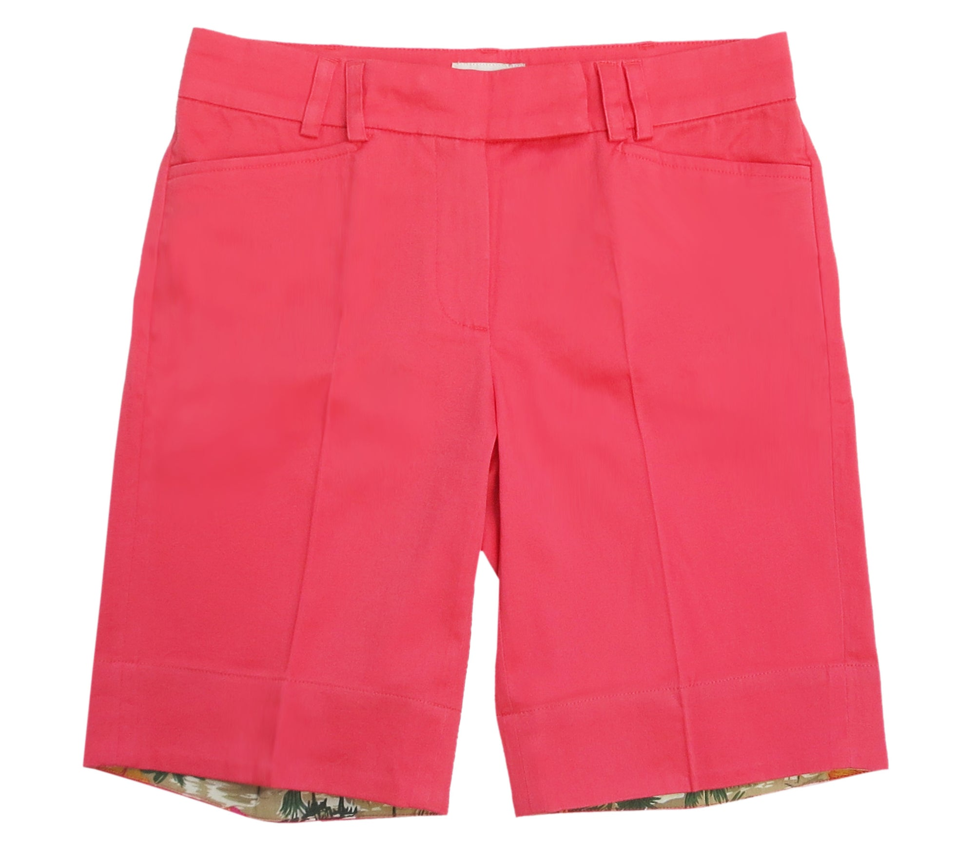 TABS Women Bermuda Shorts, coral, front long
