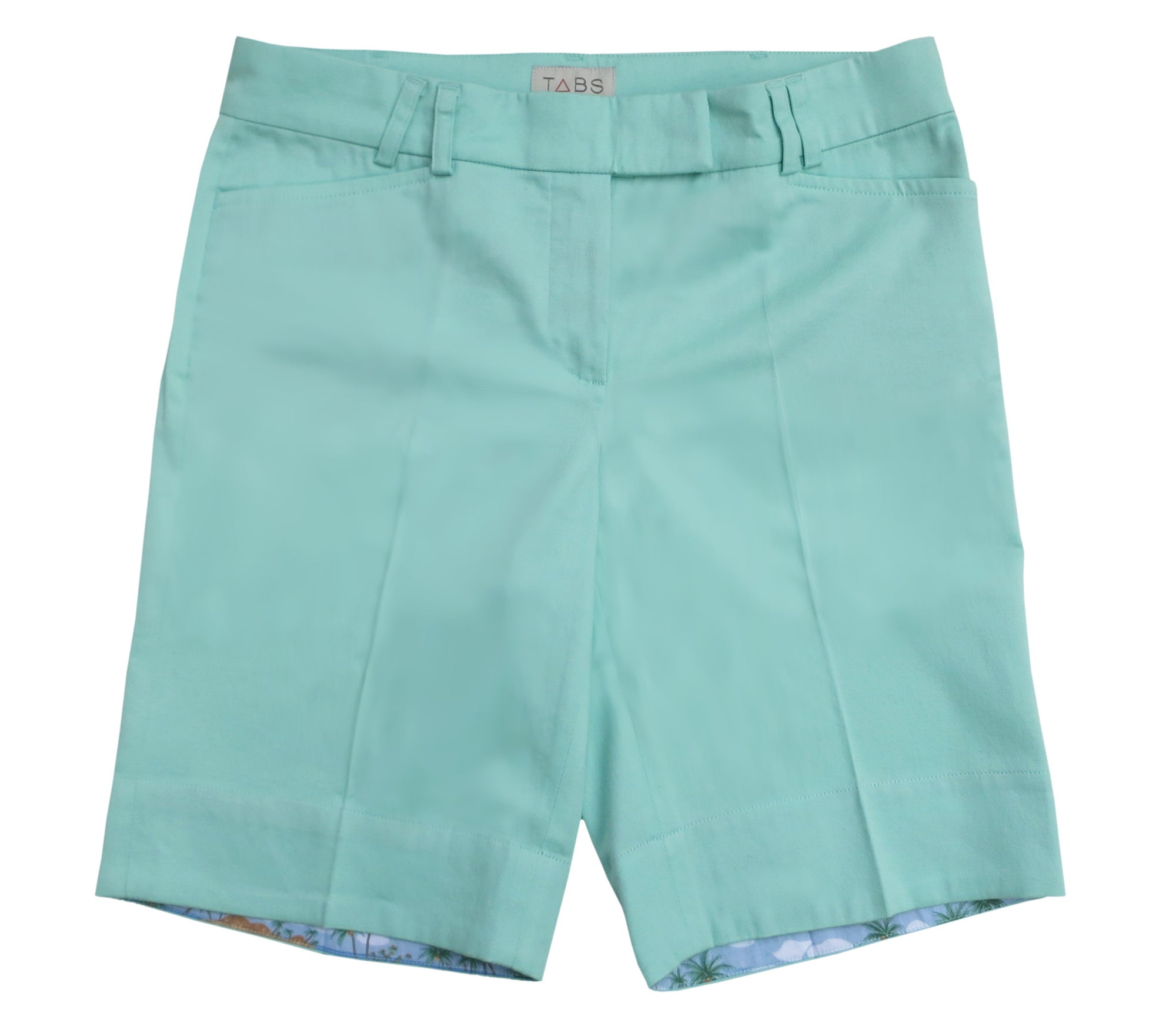 TABS Women Bermuda Shorts, mint, front long
