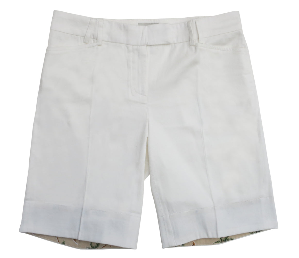 TABS Women Bermuda Shorts, white, front long