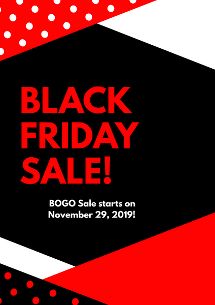 BLACK FRIDAY SALE!!!! NOV 29TH