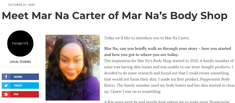 Meet The Owner: Mar Na Carter